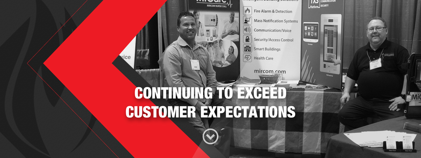 Continuing to exceed customer expectations